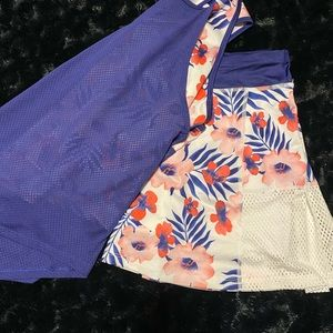 Girls 'tennis outfit'